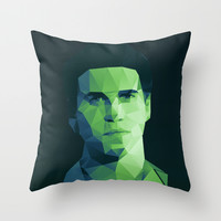 Gale Hawthorne - Hunger Games Throw Pillow by Dr.Söd