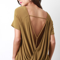Triangle Cage Back Top