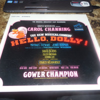 Vintage Vinyl Record David Merrick Presents Carol Channing in Hello Dolly - Before The Parade Passes - - It Takes A Women