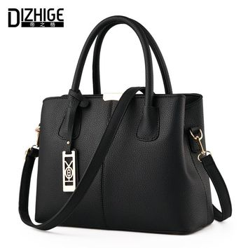 DIZHIGE Brand New Tote Bag Handbags Women Famous Designer Crossbody Bag Women Leather Handbag High Quality Sac A Main Femme 2017