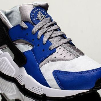 VONE05 Nike Air Huarache men lifestyle casual sneakers NEW comet blue 318429-406