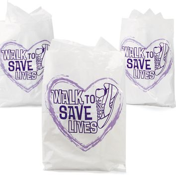 relay for life plastic bags Case of 250
