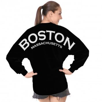 Boston Massachusetts Spirit Football Jersey®