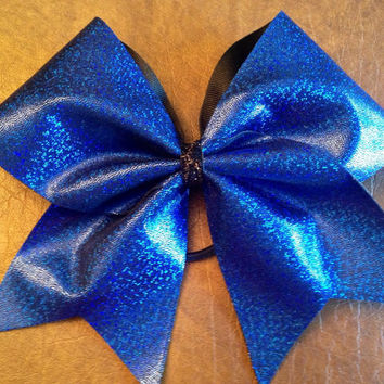 Cheer Bow - Royal Blue