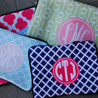 Macbook PRO 13 Sleeve Monogrammed or by LibbieandWinston on Etsy