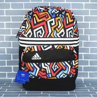 Adidas fashion wild print shoulder bag leisure package travel package for sale