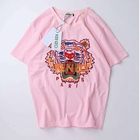 Kenzo Woman Men Fashion Casual Sports Shirt Top Tee
