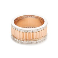 Clive Small Diamond Fluted Band Ring