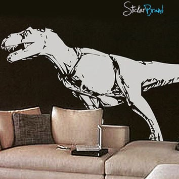 Vinyl Wall Art Decal Sticker Dinosaur T-Rex #123