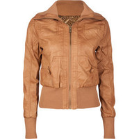 CI SONO Rib Knit Trim Womens Jacket 184349410 | jackets & vests | Tillys.com