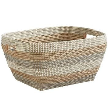 Isla Natural Seagrass Oversized Basket