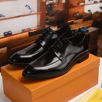 LV Fashion Casual Shoes Men Fashion Boots fashionable Casual leather Breathable Sneakers