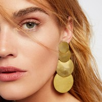 Free People 4 Moons Disc Earrings