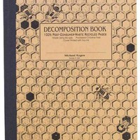 Honeycomb Decomposition Book: College-ruled Composition Notebook With 100% Post-consumer-waste Recycled Pages
