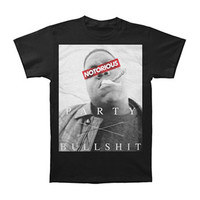 Notorious B.I.G. Men's  Censored Party T-shirt Black Rockabilia