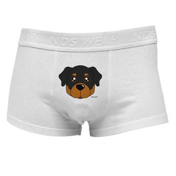 Cute Rottweiler DogMens Cotton Trunk Underwear by TooLoud