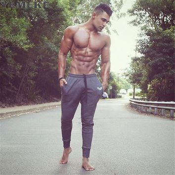 New Autumn casual pants men clothing Black gray military green patchwork Sweatpants quality male joggers