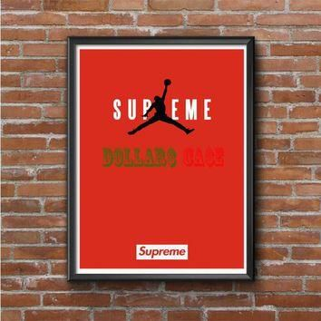 JORDAN SUPREME RED Photo Poster 16x20 18x682