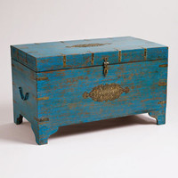 Blue Medallion Trunk - World Market