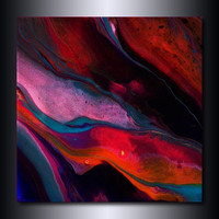 Jewel Toned Abstract Painting