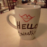 River Song Dr. Who Hello Sweetie Mug