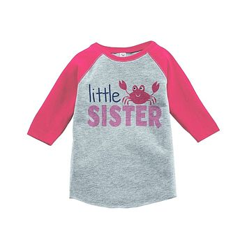 Custom Party Shop Little Sister Summer Raglan Tee