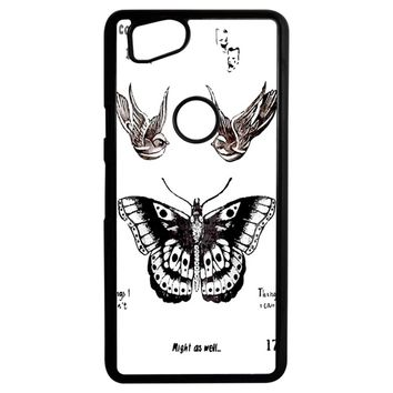 Tattoo Harry Style One Direction Google Pixel 2 Case