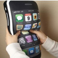 "Lujex (TM) iPhone 4 Style Shaped Pillow Cushion iPhone Plush Toy 16"":Amazon:Home & Kitchen"
