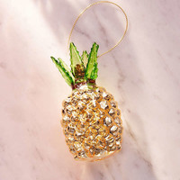 Glitter Pineapple Ornament | Urban Outfitters