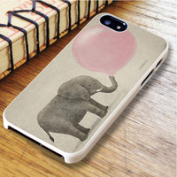 Elephant Elephant Balloon Pink Animal | For iPhone 6 Plus Cases | Free Shipping | AH0579