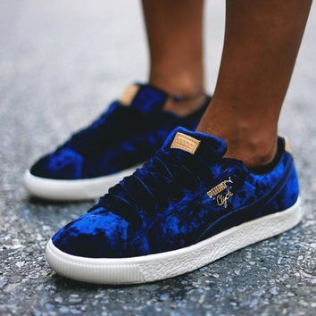 PUMA CLYDE x EXTRA BUTTER Women Fashion Sneakers Sport Shoes