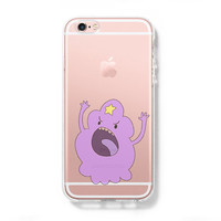 Adventure Time Lumpy Space Princess iPhone 6 Case iPhone 6s Plus Case Galaxy S6 Edge Clear Hard Case C138