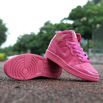 nike jordan girls boys children baby toddler kids child breathable sneakers sport shoe  number 3