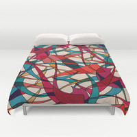 - dance - Duvet Cover by Magdalla Del Fresto