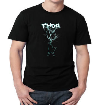 Thor - The God Of Thunder Mens T-shirt Black