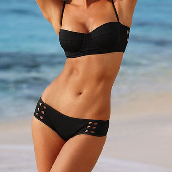 Ladies Stylish Bikini Spring Summer Swimsuits Push Up Like Swimwear Designer Bathing Suit Beach Wear = 4641963076