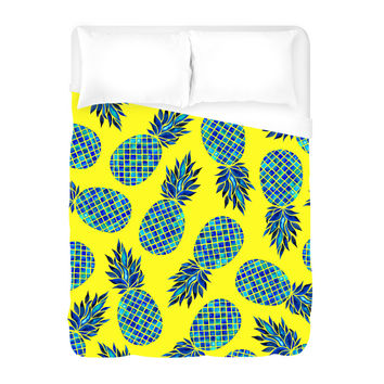 Pineapple Lush Duvet Cover