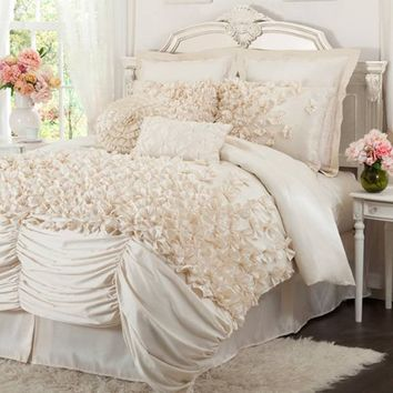 Lush Decor Lucia Bedding By Lush Decor Bedding, Comforters, Comforter Sets, Duvets, Bedspreads, Quilts, Sheets, Pillows: The Home Decorating Company