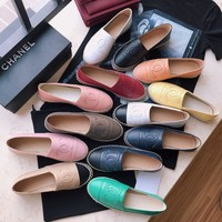 Chanel Fashion Women Espadrilles