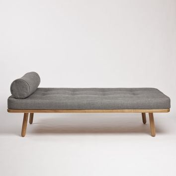 Bolster for Day Bed One Turnberry Grey by Another Country