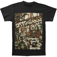 System Of A Down Men's  Voodoo T-shirt Black