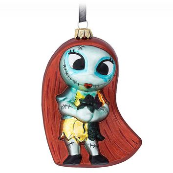 Licensed cool 2017 Sally Ragdoll Glass Ornament Nightmare Before Christmas Disney Store Parks