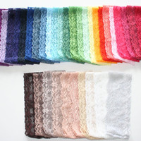 "Lace Headband Hand Dyed ""The Lexi Lace"" Tones Stretch Lace Adult Headbands Teenager"