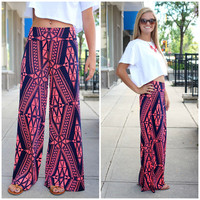 Take Me To Tahiti Palazzo Pants