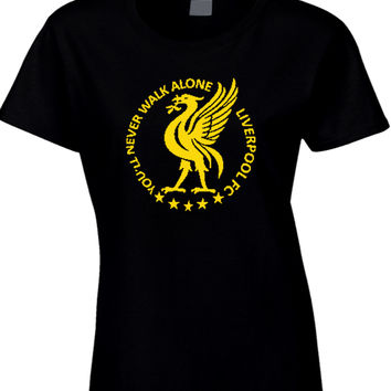 You'll Never Walk Alone Liverpool Womens T Shirt