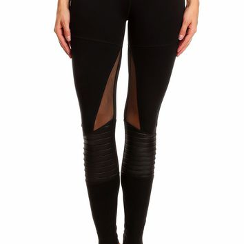 Dance Studio Moto Patch Legging