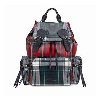 Burberry Medium Rucksack Military Red