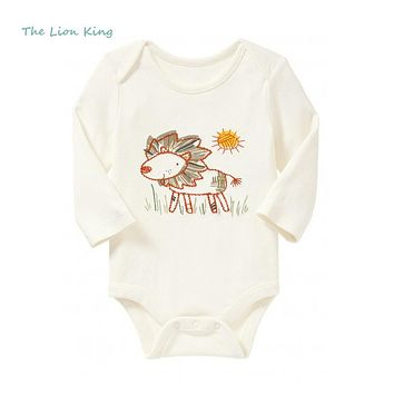 Long Sleeve Boy Forest animals oneise