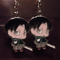Attack on Levi Earrings Inspired by Attack on Titan