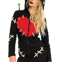 Cozy Voodoo Doll,zipper front